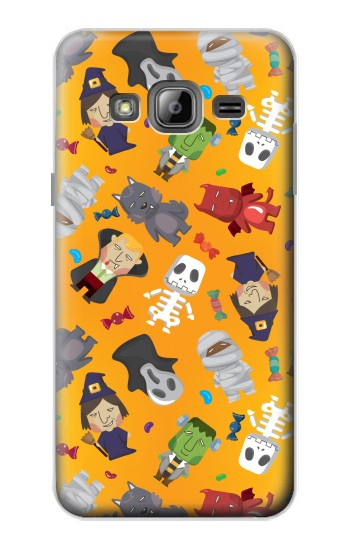 Printed Cute Halloween Cartoon Pattern Samsung Galaxy J1 Case