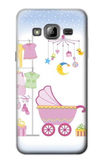 Printed Baby Supplies Samsung Galaxy J1 Case