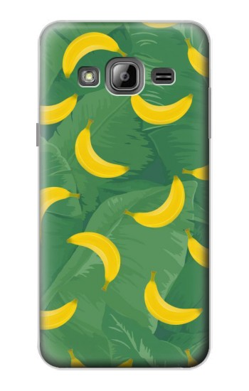 Printed Banana Fruit Pattern Samsung Galaxy J1 Case