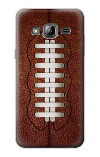 Printed Leather Vintage Football Samsung Galaxy J1 Case