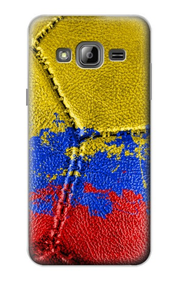 Printed Colombia Flag Vintage Football 2018 Samsung Galaxy J1 Case