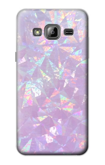 Printed Iridescent Holographic Photo Printed Samsung Galaxy J1 Case