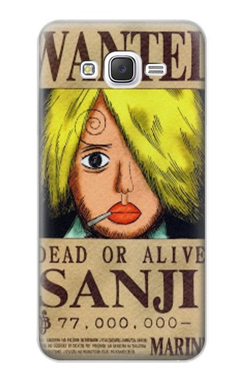 Printed One Piece Sanji Wanted Poster Samsung Galaxy J5 Case