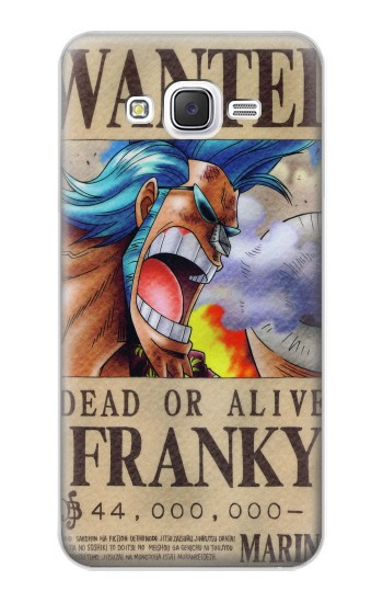 Printed One Piece FRANKY Wanted Poster Samsung Galaxy J5 Case
