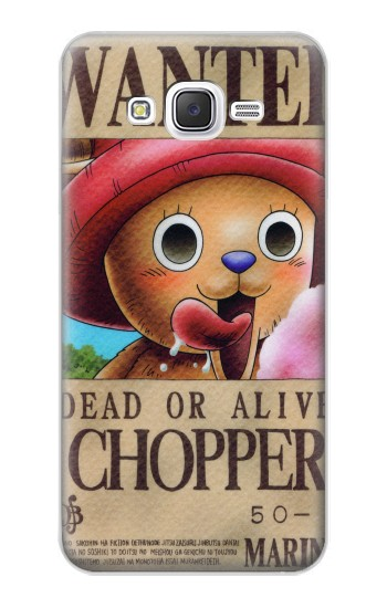Printed One Piece CHOPPER Wanted Poster Samsung Galaxy J5 Case