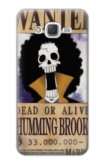 Printed One Piece Humming Brook Wanted Poster Samsung Galaxy J5 Case