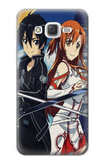 Printed Sword Art Online Samsung Galaxy J5 Case