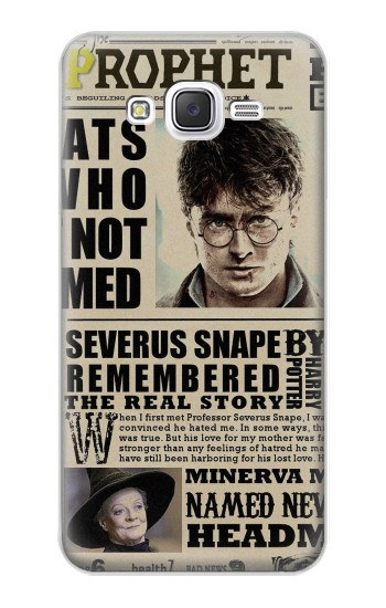 Printed Harry Potter Daily Prophet Samsung Galaxy J5 Case