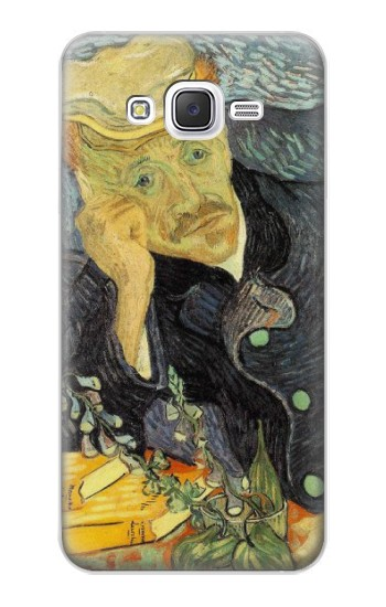 Printed Van Gogh Portrait of Dr. Gachet Samsung Galaxy J5 Case