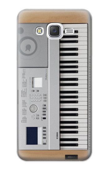 Printed Keyboard Digital Piano Samsung Galaxy J5 Case