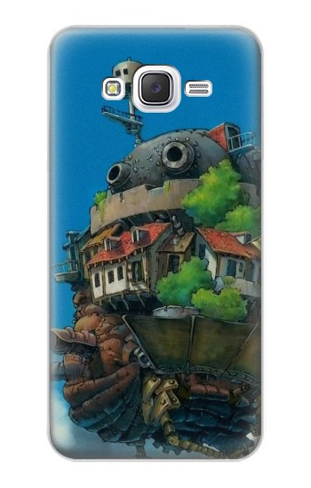Printed Howl's Moving Castle Hauru no Ugoku Shiro Samsung Galaxy J5 Case