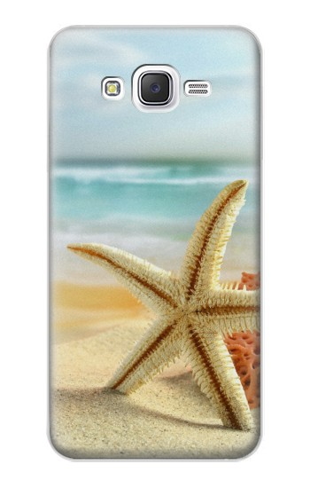 Printed Starfish on the Beach Samsung Galaxy J5 Case