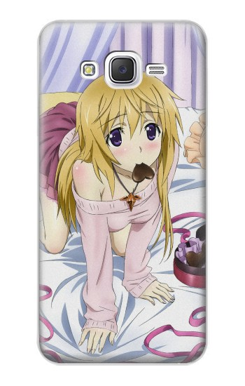 Printed Infinite Stratos Charlotte Dunois Samsung Galaxy J5 Case