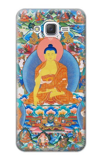 Printed Buddha Paint Samsung Galaxy J5 Case