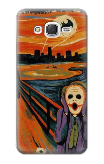 Printed Scream Joker Batman Samsung Galaxy J5 Case