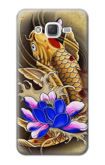 Printed Carp Koi Fish Japanese Tattoo Samsung Galaxy J5 Case