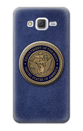 Printed US Navy Samsung Galaxy J5 Case