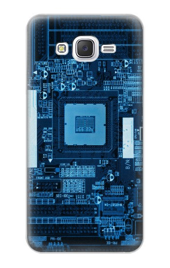 Printed CPU Motherboard Samsung Galaxy J5 Case