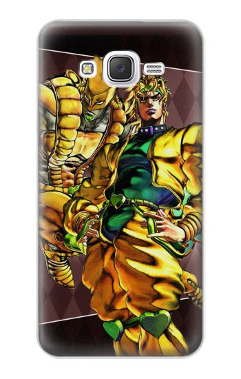 Printed Jojo Bizarre Adventure Dio Brando The World Samsung Galaxy J5 Case