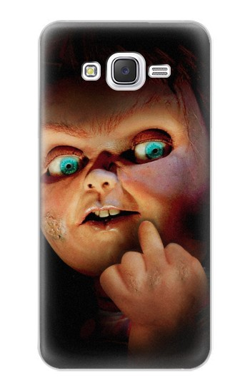 Printed Chucky Middle Finger Samsung Galaxy J5 Case