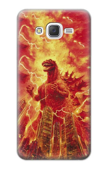 Printed Godzilla The Legend Is Reborn Samsung Galaxy J5 Case