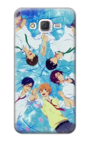 Printed Free Iwatobi Swim Club 02 Samsung Galaxy J5 Case