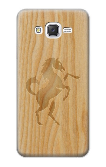 Printed Horse Carving Graphic printed Samsung Galaxy J5 Case