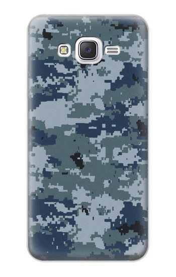 Printed Navy Camo Camouflage Graphic Samsung Galaxy J5 Case