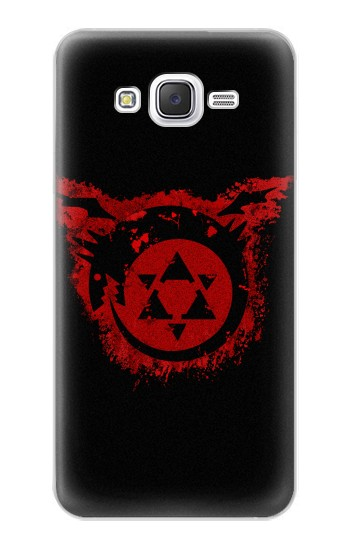 Printed Full Metal Alchemist Uroboros Tattoo Samsung Galaxy J5 Case