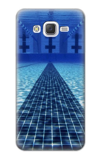 Printed Swimming Pool Samsung Galaxy J5 Case