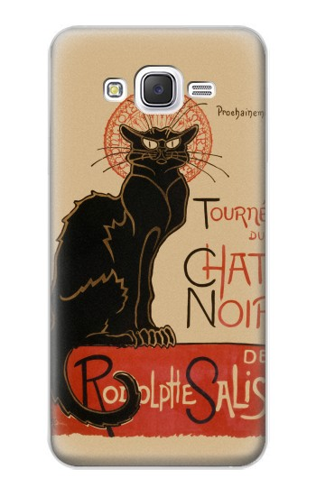 Printed Chat Noir The Black Cat Samsung Galaxy J5 Case