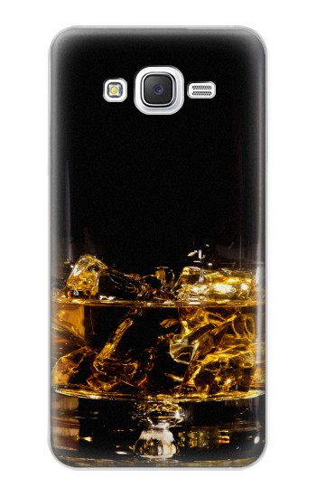 Printed Ice Whiskey Glass Samsung Galaxy J5 Case