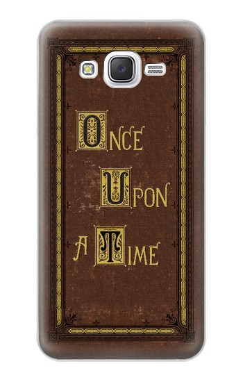 Printed Once Upon a Time Book Cover Samsung Galaxy J5 Case