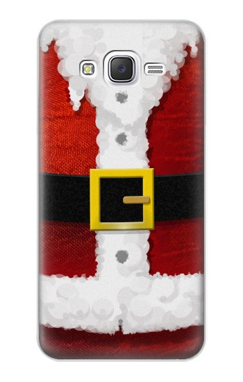 Printed Christmas Santa Red Suit Samsung Galaxy J5 Case