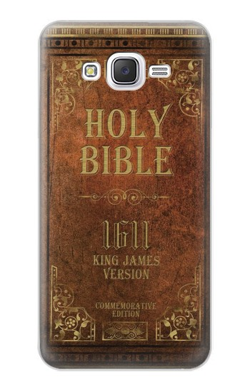Printed Holy Bible 1611 King James Version Samsung Galaxy J5 Case