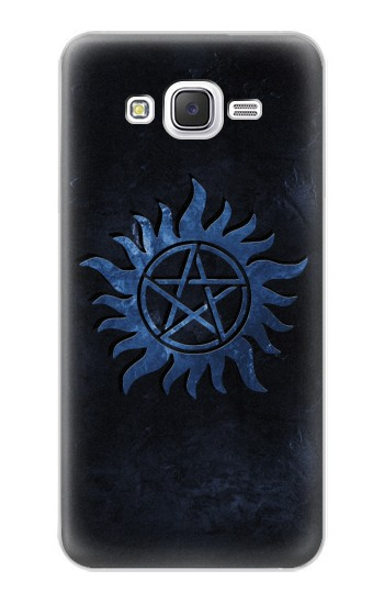 Printed Supernatural Anti Possession Symbol Samsung Galaxy J5 Case