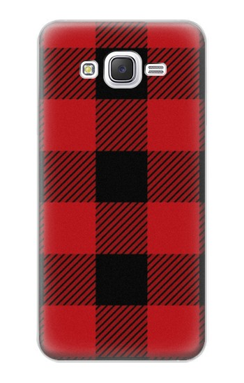 Printed Red Buffalo Check Pattern Samsung Galaxy J5 Case
