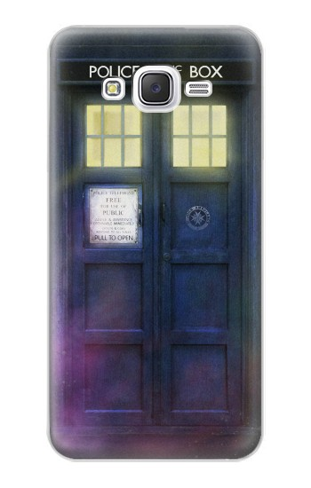 Printed Tardis Phone Box Samsung Galaxy J5 Case