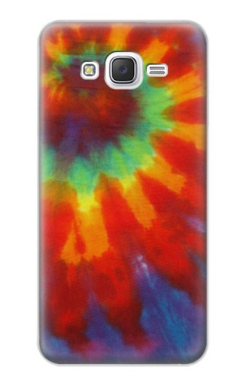 Printed Colorful Tie Dye Fabric Texture Samsung Galaxy J5 Case