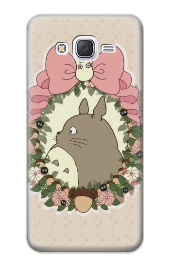 Printed My Neighbor Totoro Wreath Samsung Galaxy J5 Case