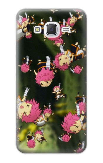 Printed Fairy Tail Little Natsu Fall Samsung Galaxy J5 Case