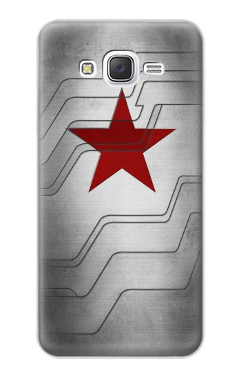 Printed Winter Soldier Bucky Arm Texture Samsung Galaxy J5 Case