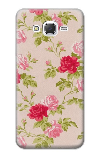 Printed Pretty Rose Cottage Flora Samsung Galaxy J5 Case