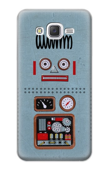 Printed Retro Robot Toy Samsung Galaxy J5 Case