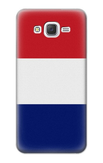 Printed Flag of France and the Netherlands Samsung Galaxy J5 Case