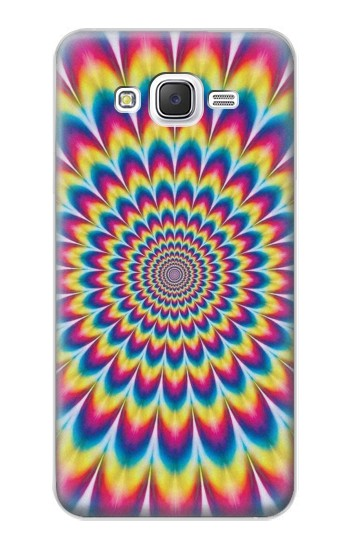 Printed Colorful Psychedelic Samsung Galaxy J5 Case