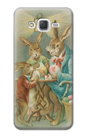 Printed Easter Rabbit Family Samsung Galaxy J5 Case