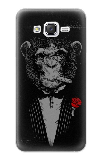 Printed Funny Monkey God Father Samsung Galaxy J5 Case