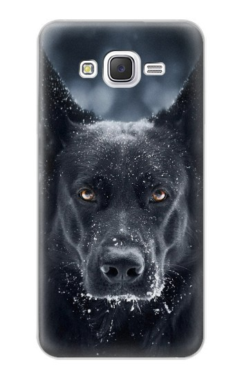 Printed German Shepherd Black Dog Samsung Galaxy J5 Case
