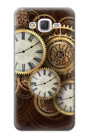 Printed Gold Clock Live Samsung Galaxy J5 Case